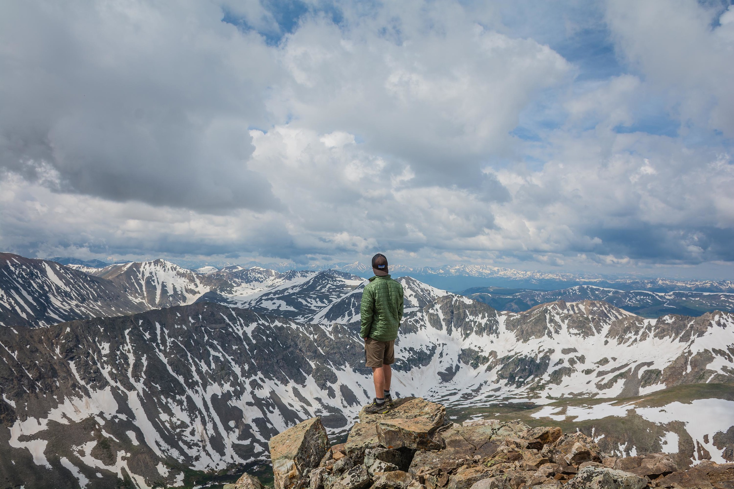 Colorado 14er 14,000ft mountain hike thisworldexists this world exists