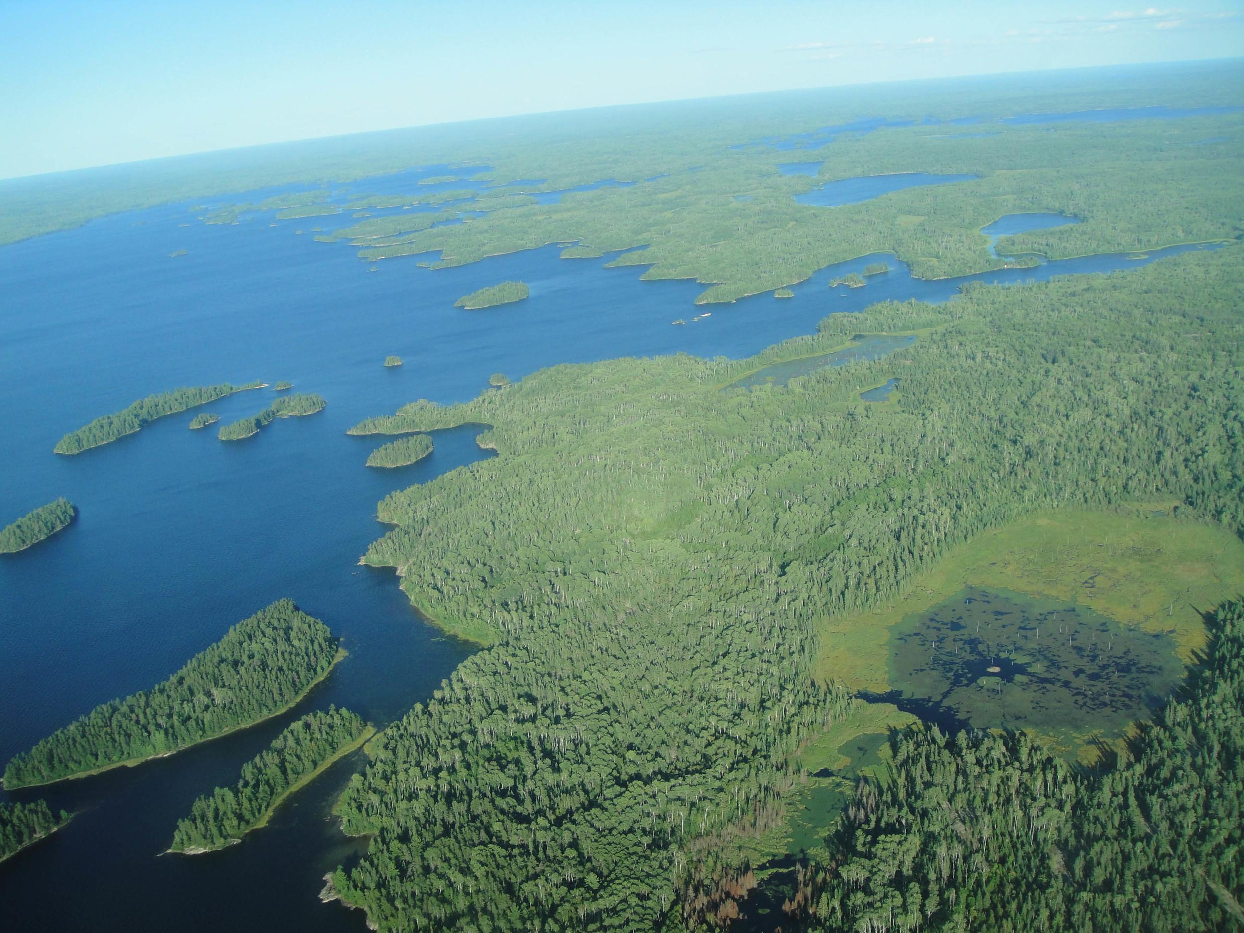 boundary waters minnesota nick ziegler lake lucille