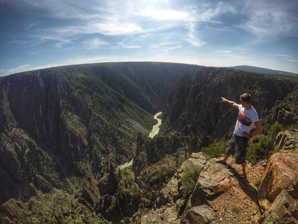 Black Canyon, Colorado. Photo by  @ahjulia