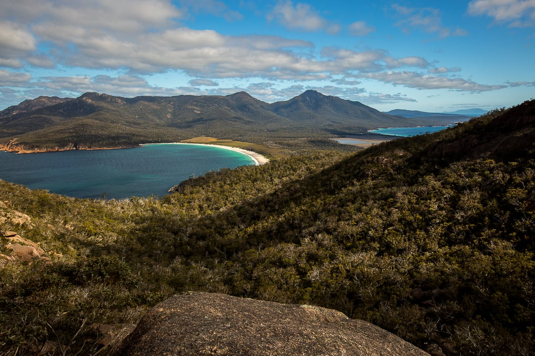 Wineglass Bay. Photo by Tom Jessett.  Instagram: @trex.photography