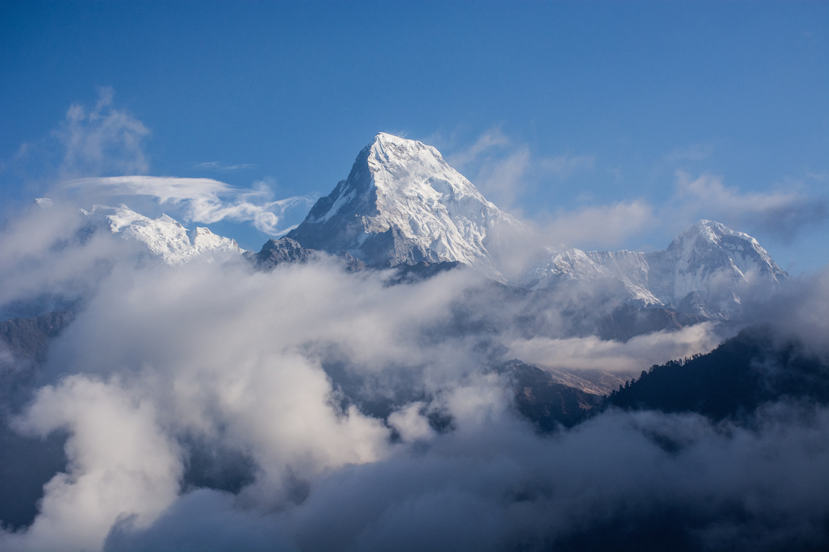 annapurna himalaya thisworldexists this world exists nepal hike hiking adventure snow mountains cloud