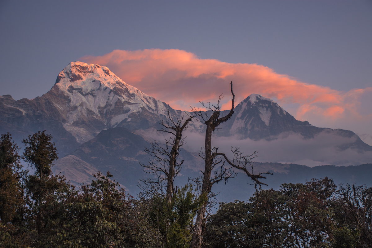 annapurna himalaya mountains sunrise thisworldexists this world exists mountains snow