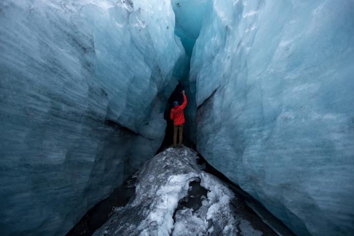 Iceland THISWORLDEXISTS glacier