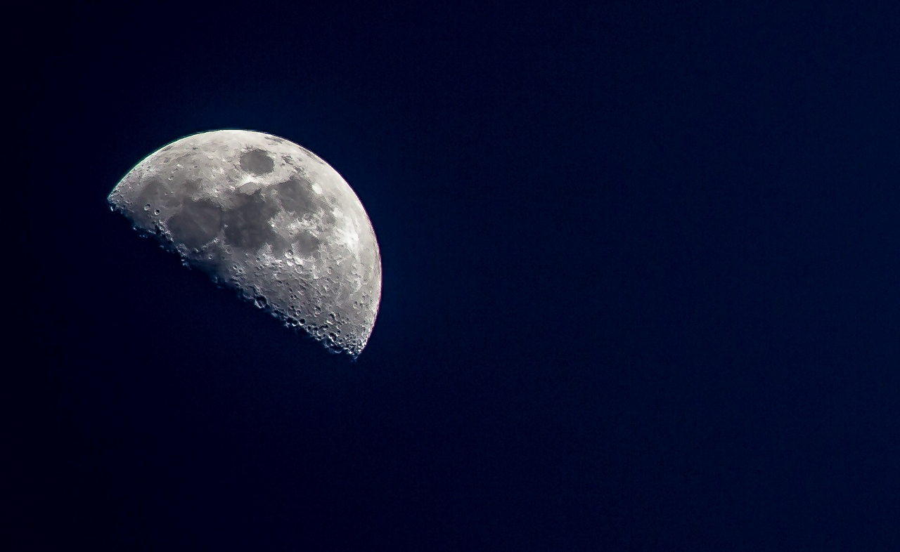 Moon shot from the middle of Salt Lake City.  Photo: Dean Chytraus