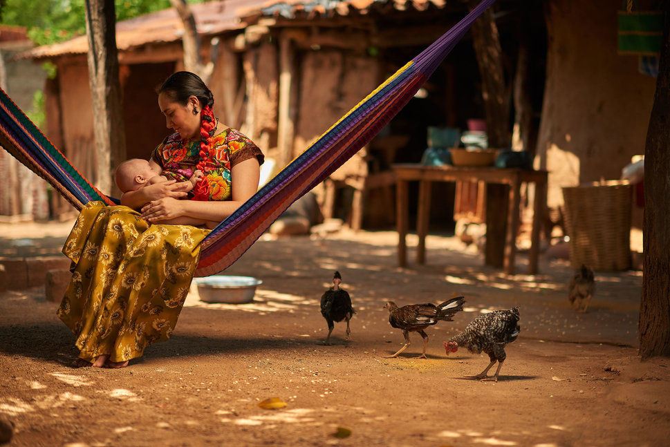 Oaxaca Mother Child Diego Huerta THISWORLDEXISTS this world exists Mexico travel volunteer adventure