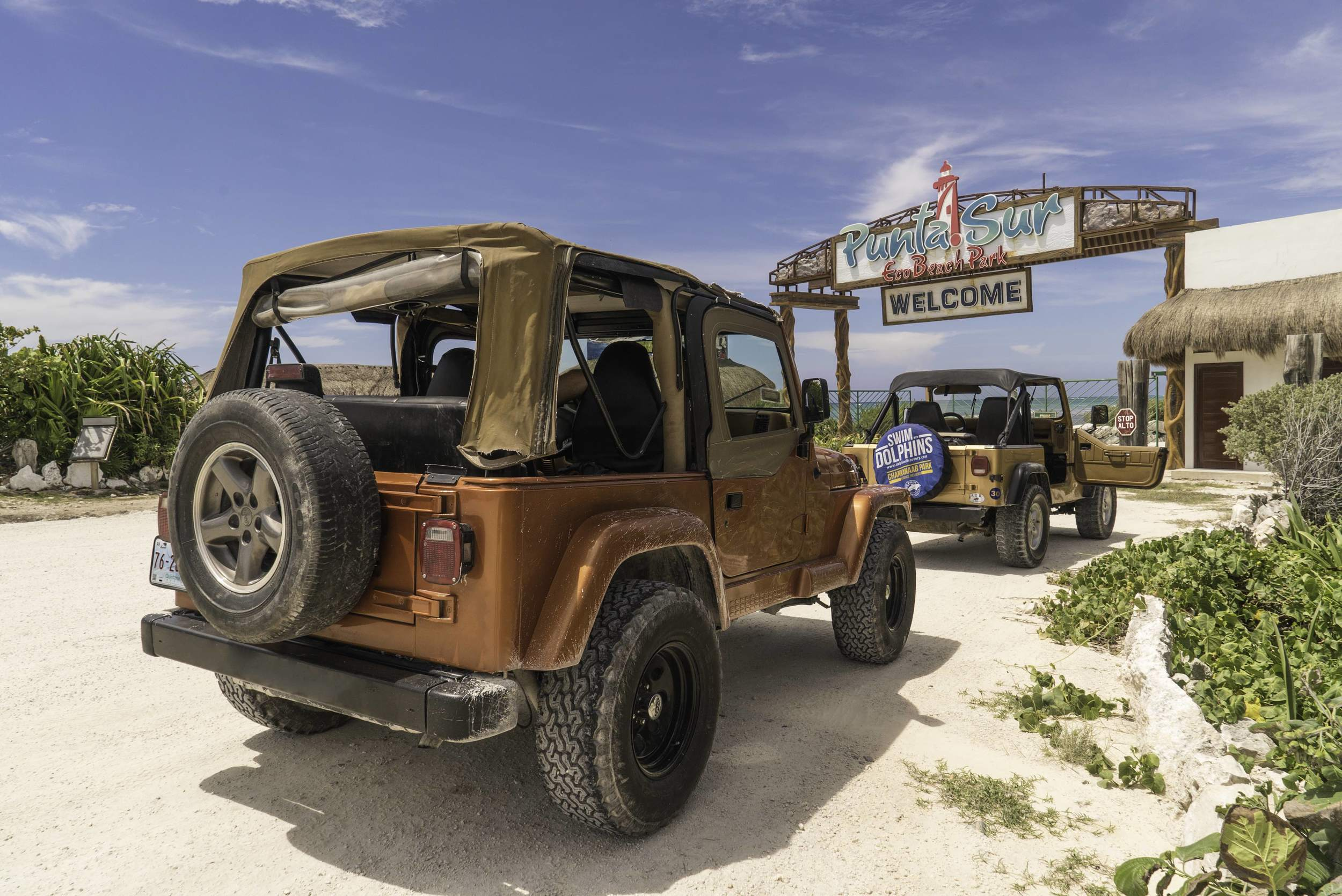 Jeep tour punta sur cozumel mexico the explorean all inclusive hotel resort fiesta americana thisworldexists this world exists travel adventure caribbean mexico