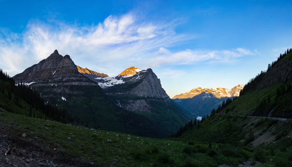 [Going-to-the-Sun Road, Glacier National Park, Montana