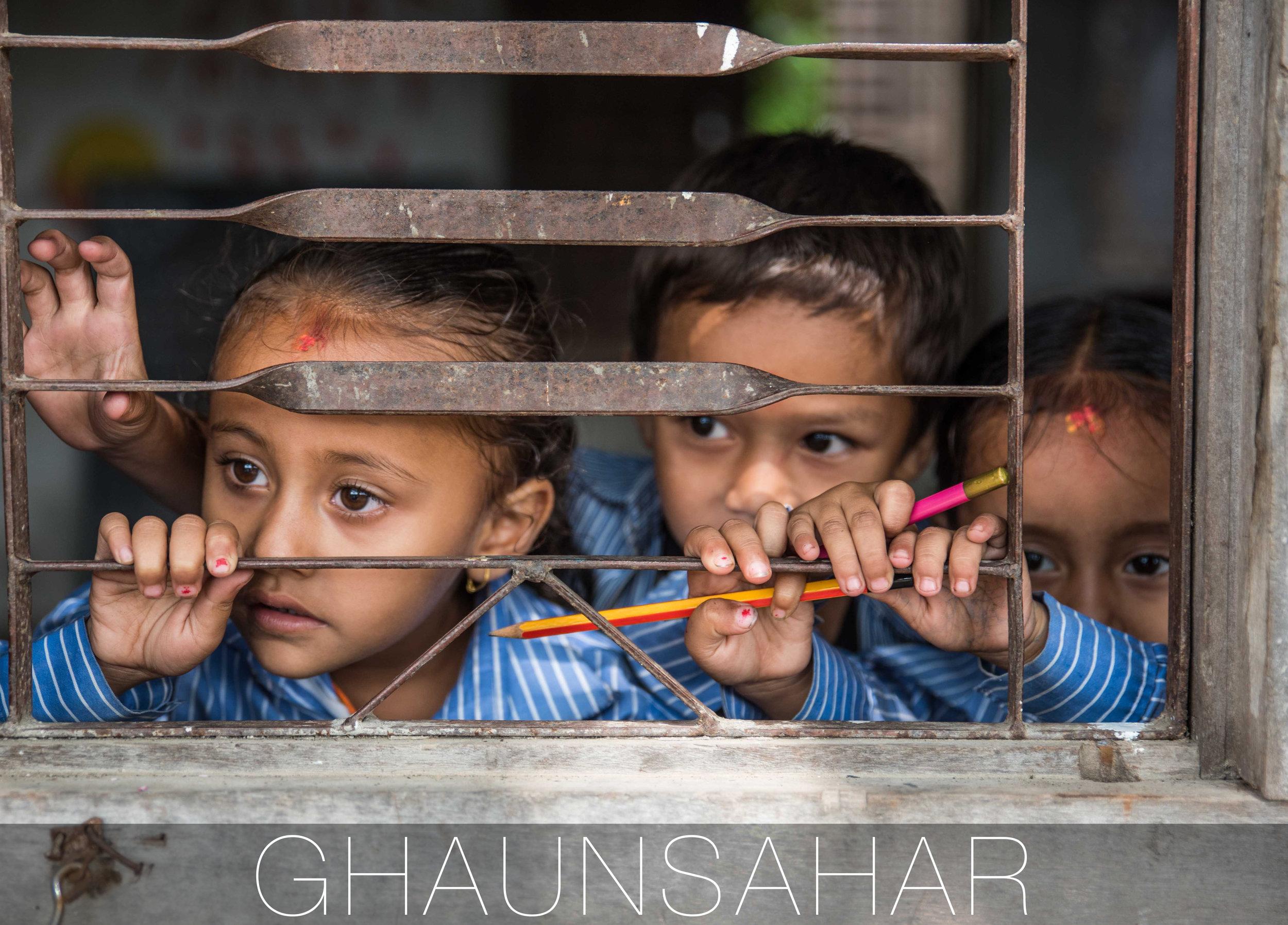 THISWORLDEXISTS volunteer education Nepal Ghaunsahar