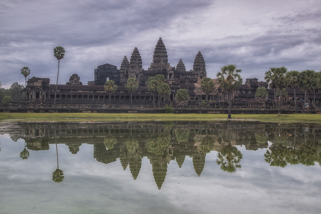 The Increbidle temples of Angkor.