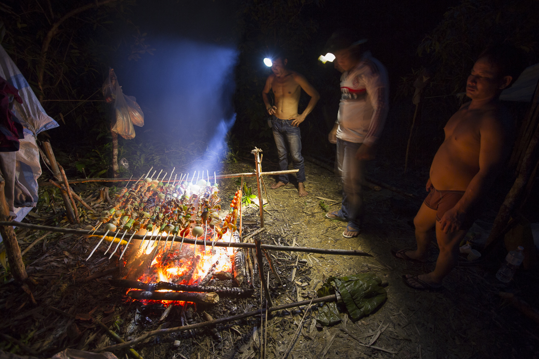 Cooking up a feast in the jungle