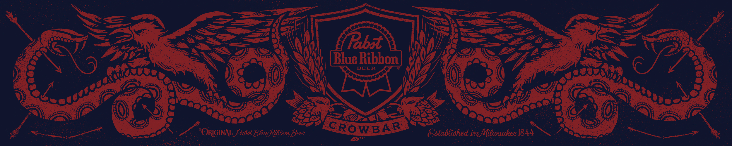 Pabst Blue Ribbon - Banner
