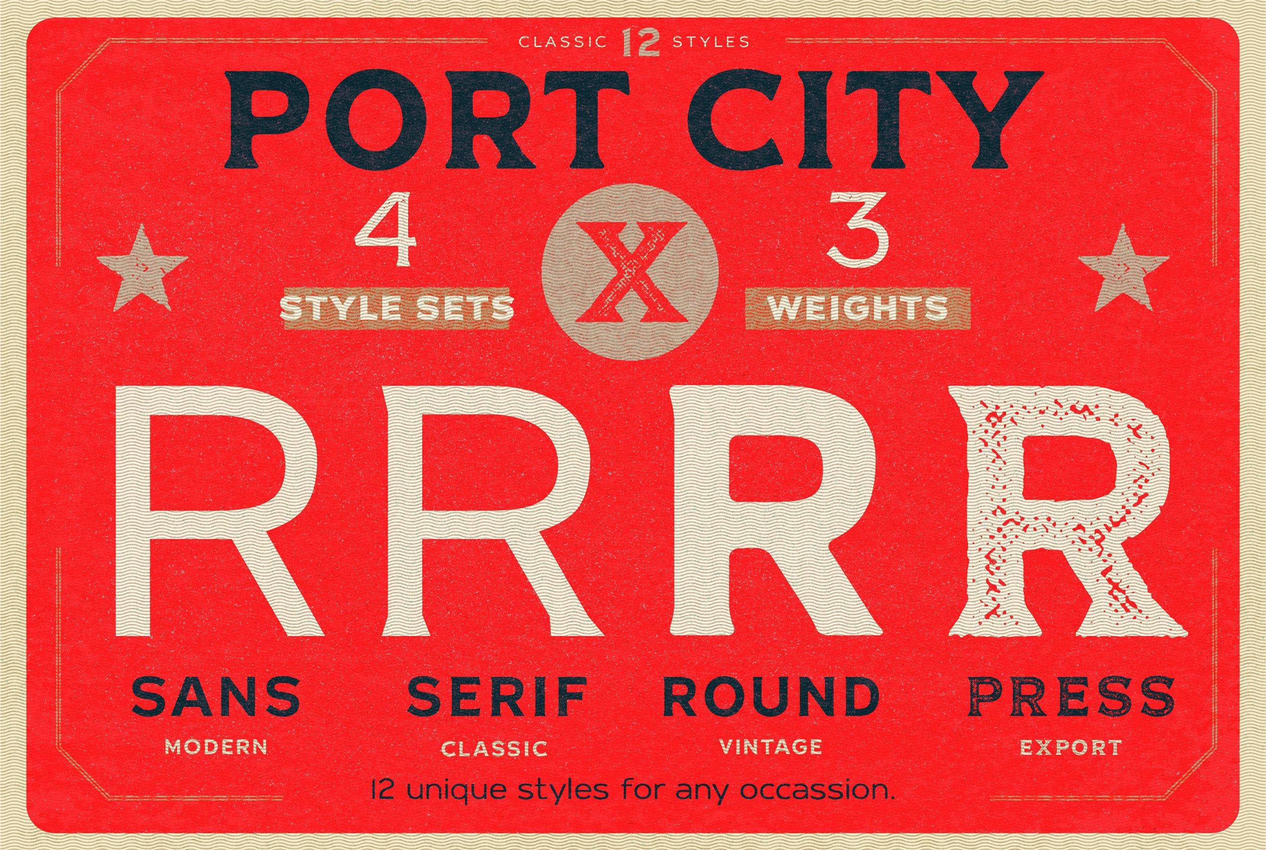 Port city sample slide1