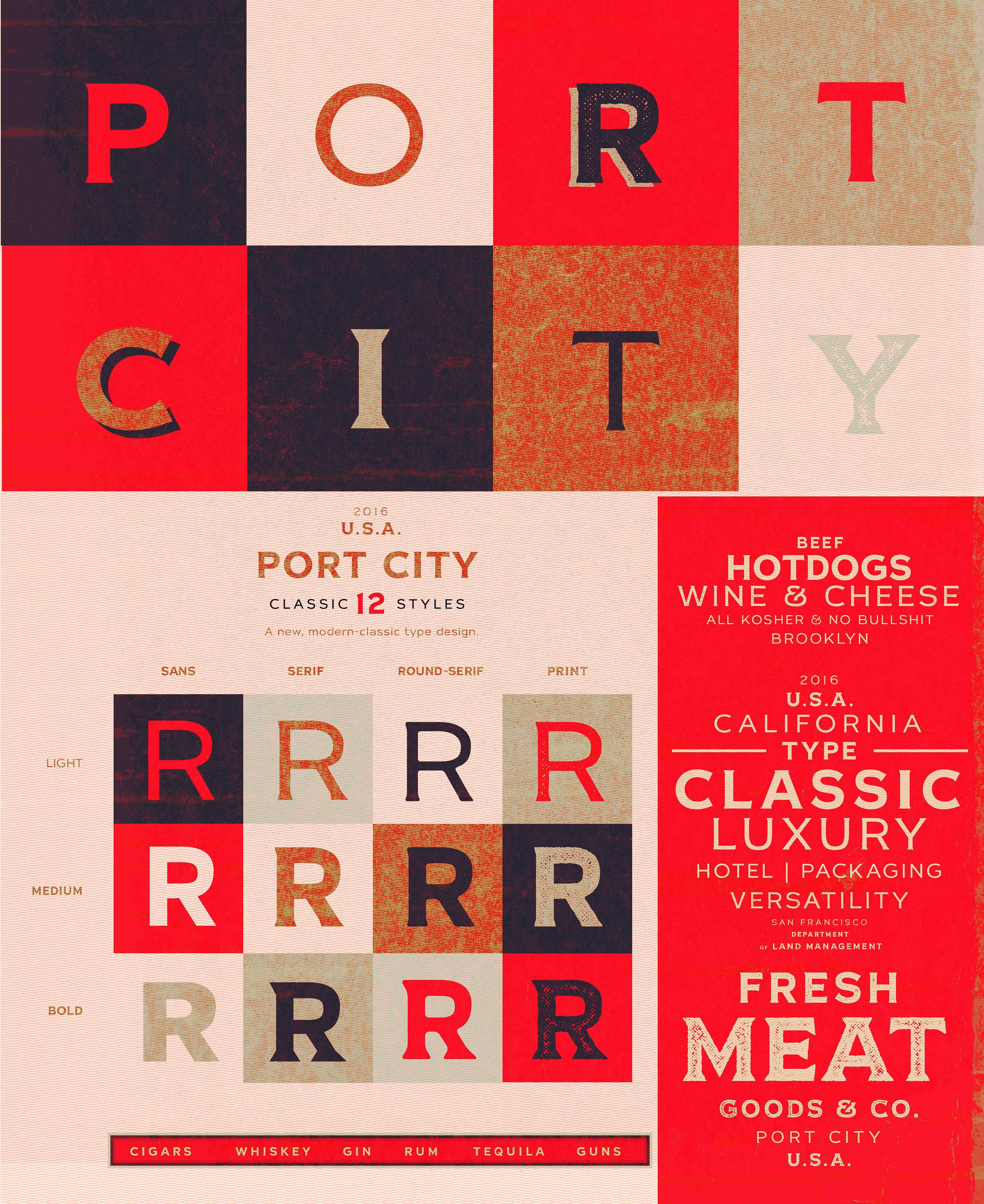 Port city sample slide