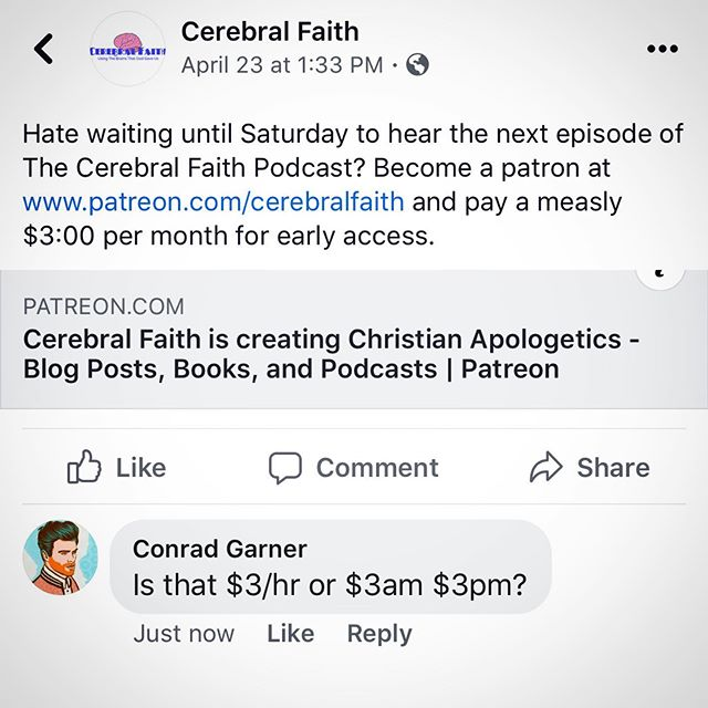 Just taking this guy out for a troll. Just had hours of fun on this inspirational site. They sure do like to call people stupid a lot especially if you don't believe in a religion that has the word Christ in it. So is that like $3:00/hr, $3:00am, or $3:00pm? I am not sure how much or when to contribute. Bless their heart. #idiot #religion #cerebralfaith #faith #christ #god #lord #jesus #religion #troll #churchofsatan #dumb