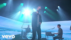 Performing on Piano with Tom Chaplin on Jimmy Kimmel