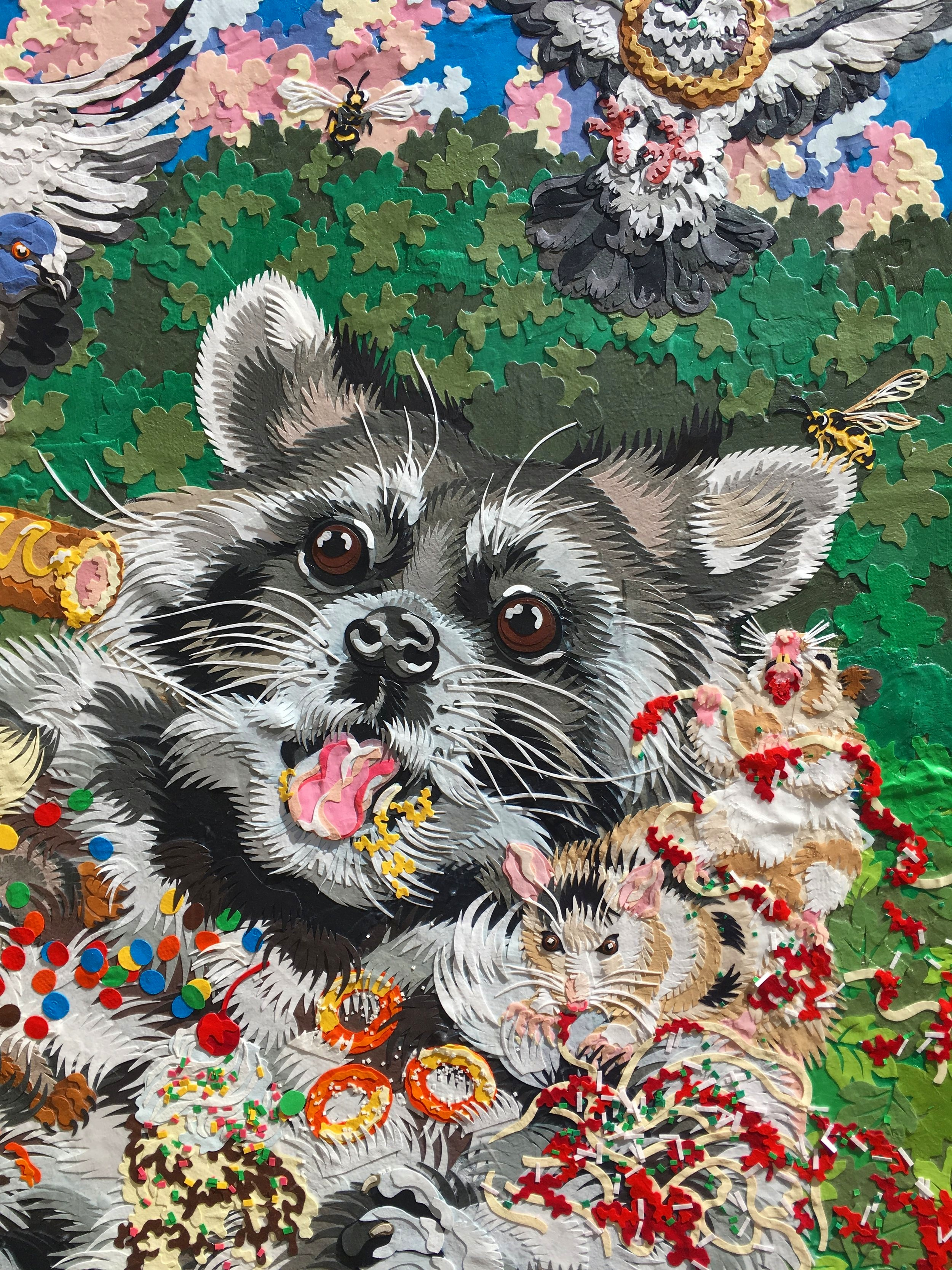 Raccoon Heaven detail 1