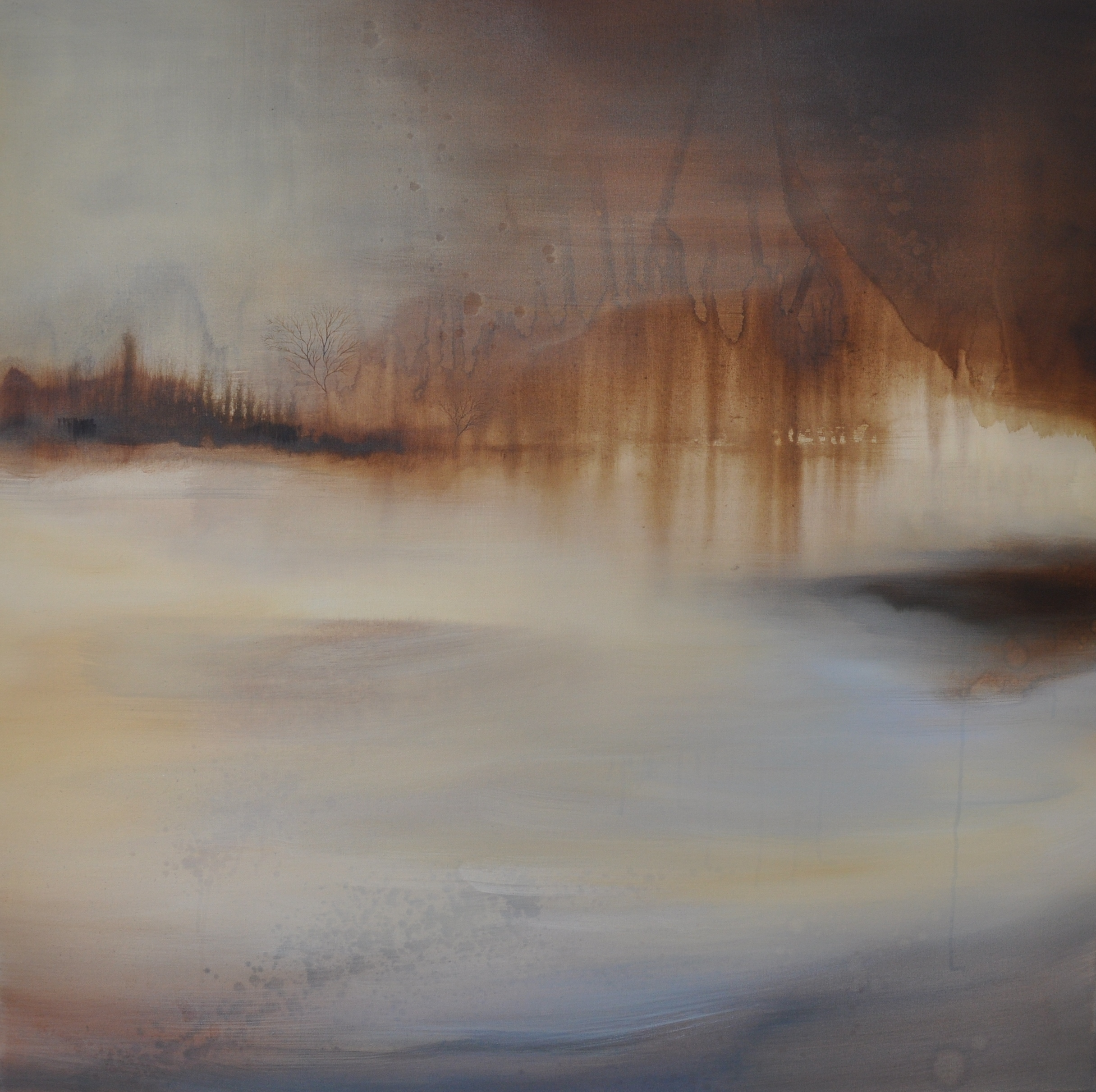 Murmur, oil on canvas  90 x 90cm 2015,.jpg