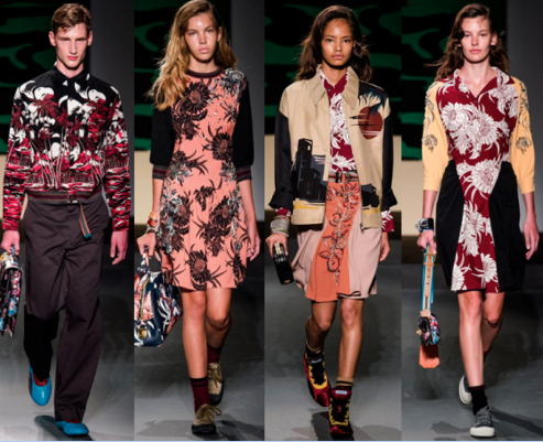 Prada S/S 2014 menswear and Resort 2014 womenswear