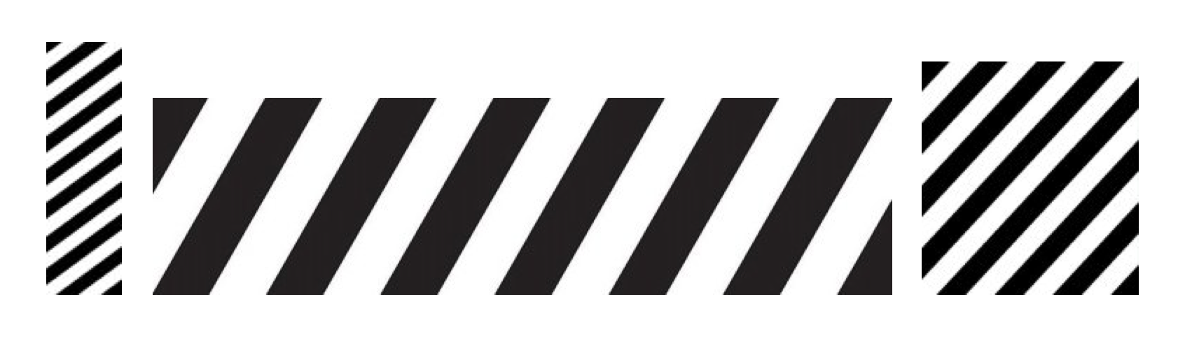 Abloh's three Off-White trademarks (images courtesy of USPTO)
