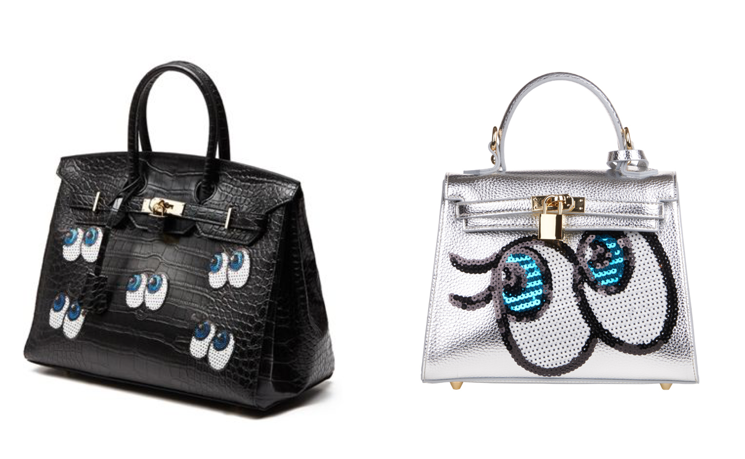 Two of PLAYNOMORE's bags