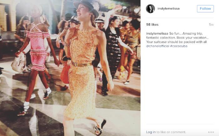 image: @instylemelissa Instagram (Fashion Director, InStyle Magazine Print & Digital)