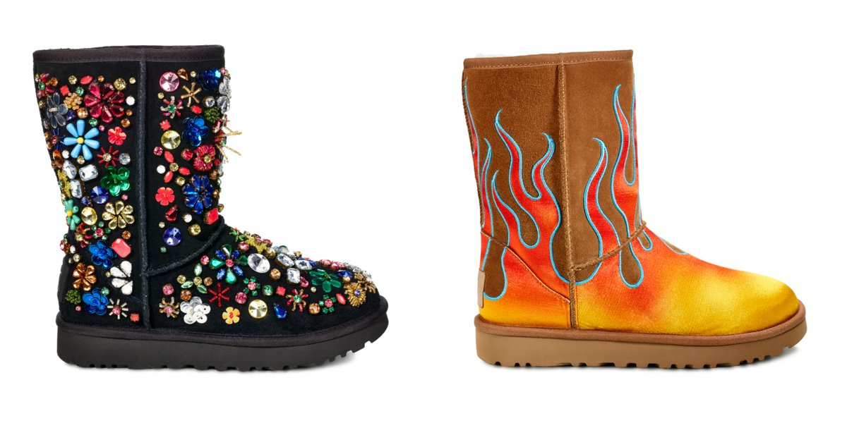 Boots from the Jeremy Scott x Ugg collaboration