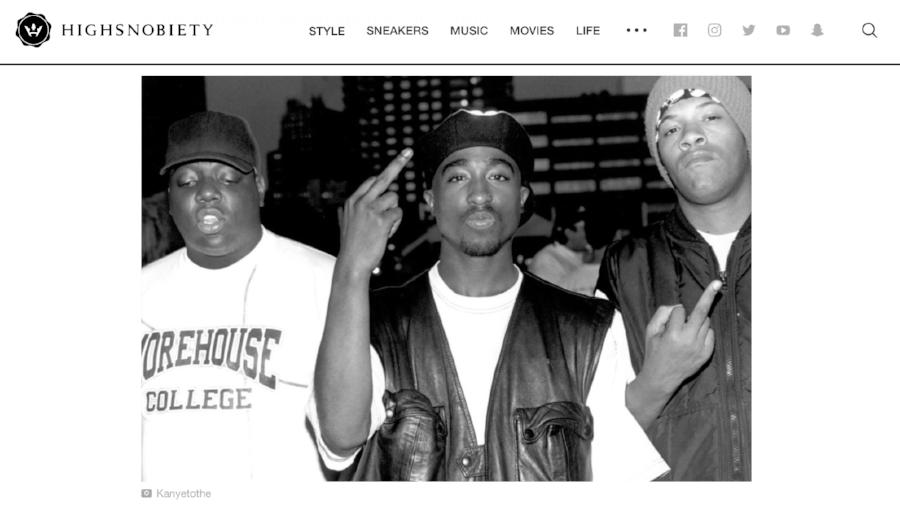 Pereira's photo on HighSnobiety's site