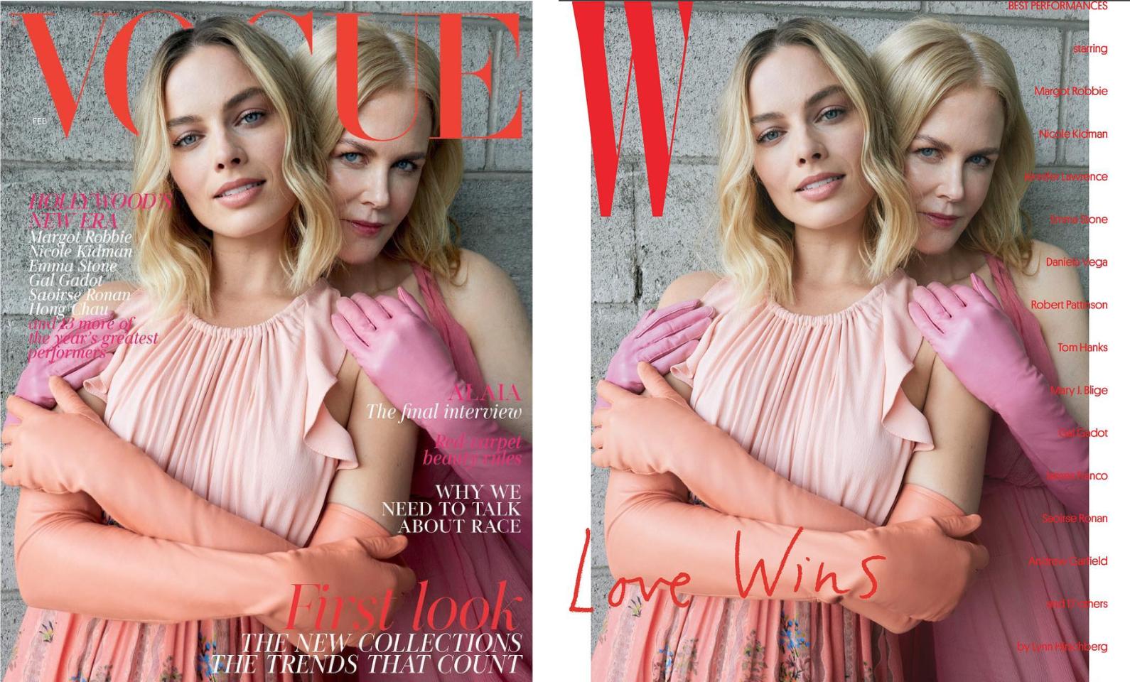 images: Vogue, W