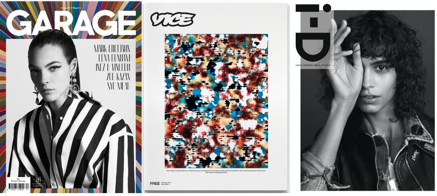 images: Garage, Vice, i-D