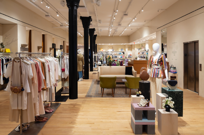 The RealReal's New York store (image: The RealReal)