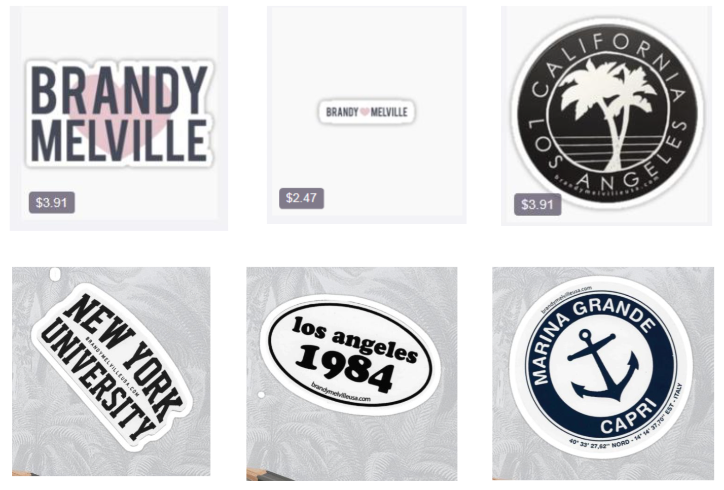 Melville stickers available on Redbubble