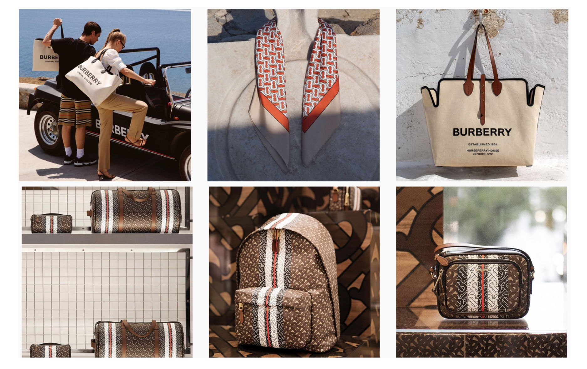 images: Burberry