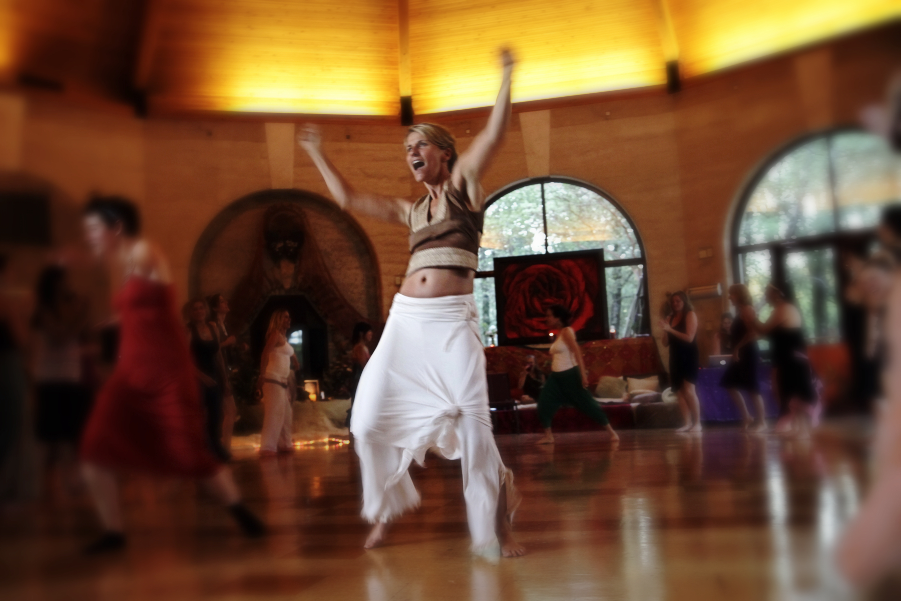 Steph Dancing