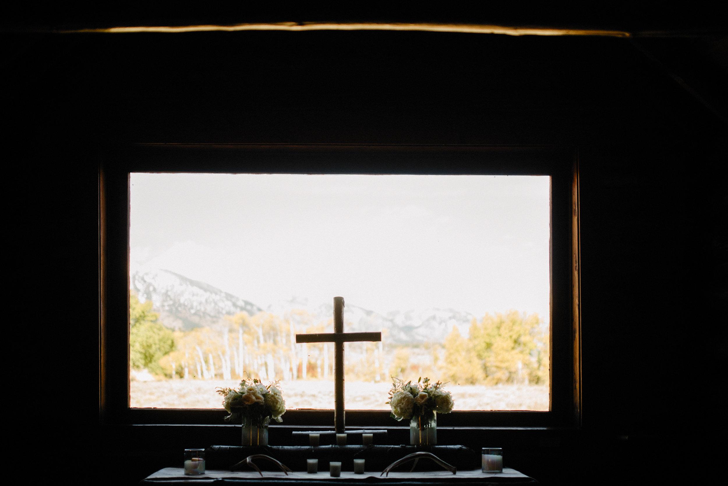 Chapel of Transfiguration Wedding Photography Grand Teton National Park
