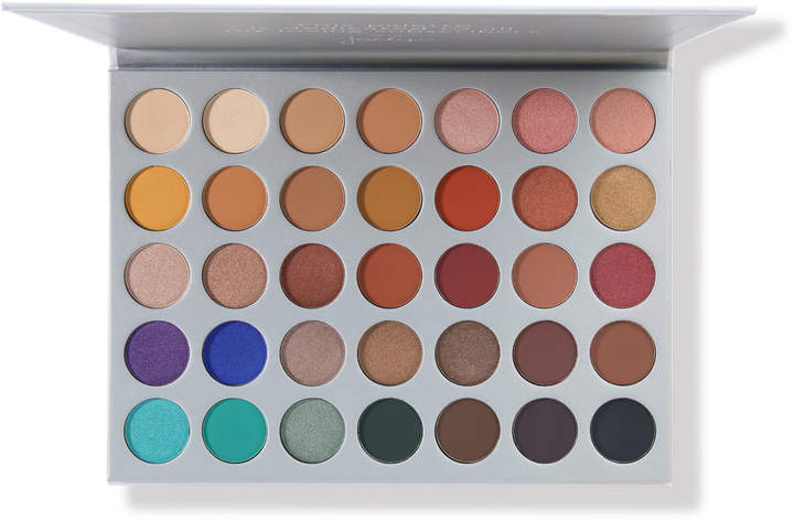 """Morphe Jaclyn Hill Eyeshadow Palette - Fun! That is the best way to describe this palette. Everyday when I open it up I think """"what kind of look would I like to create today"""". You have a little bit of every colour family in this palette which literally makes the combinations and looks you could create, endless. The pigments are strong, true to Jaclyn Hill's love of colour and her desire to blend until she can't move her hand. I am so glad Ulta is now carrying this collection of products, making it a little more accessible for us Canadian beauty lovers."""