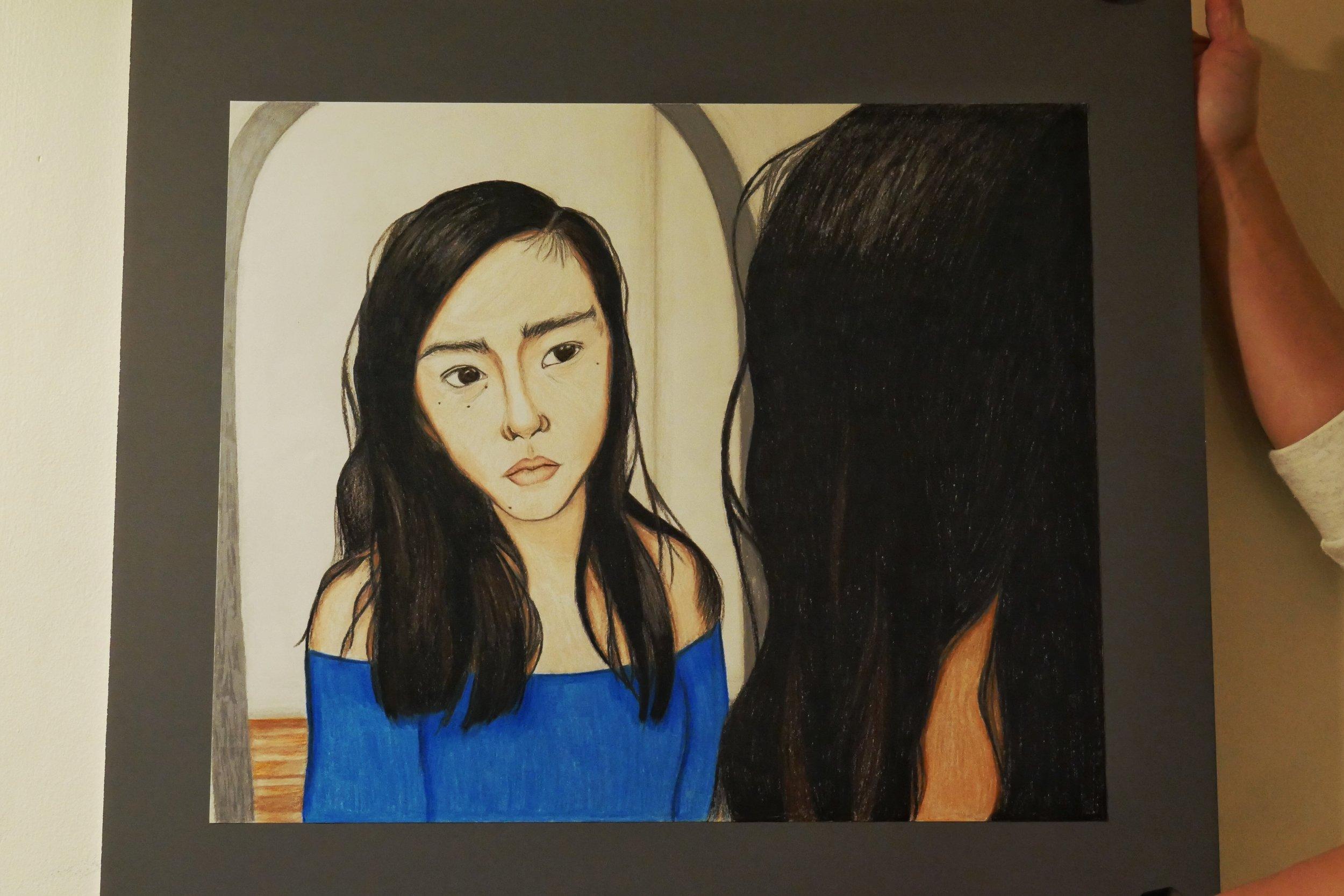 Self Portrait (Color Pencil)