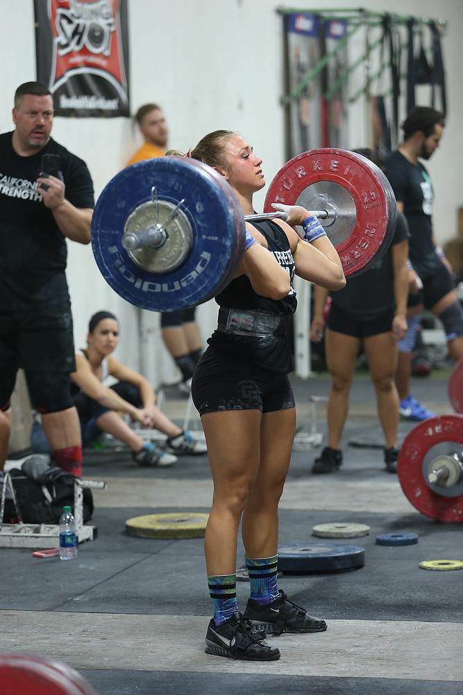 California strength olympic weightlifting jordan weichers
