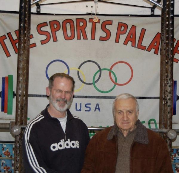 Abajiev at the Sports Palace