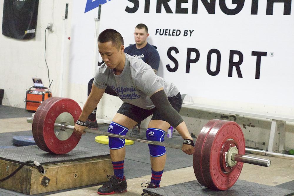 California Strength Athlete Stephen Ngo