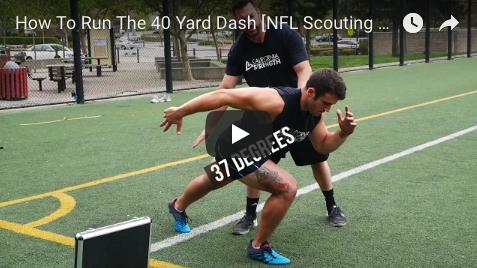 The 40 Yard Dash