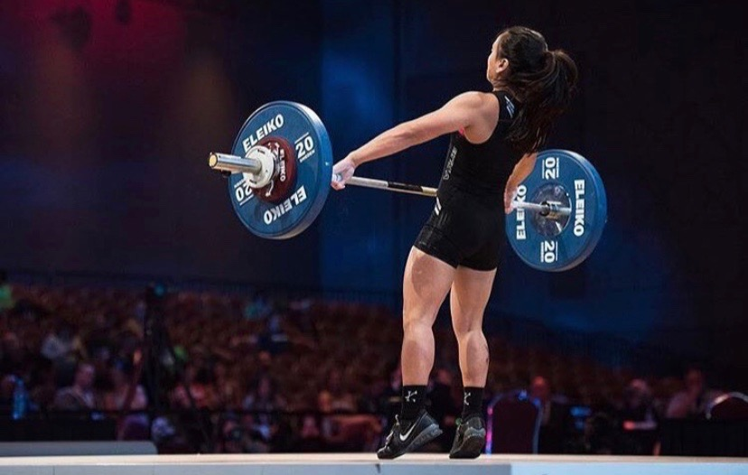 Olympic Weightlifter Nicole Lim