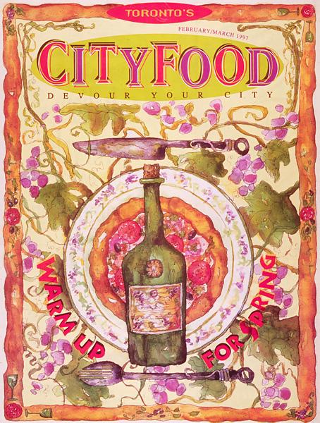 Toronto City Food Cover Art