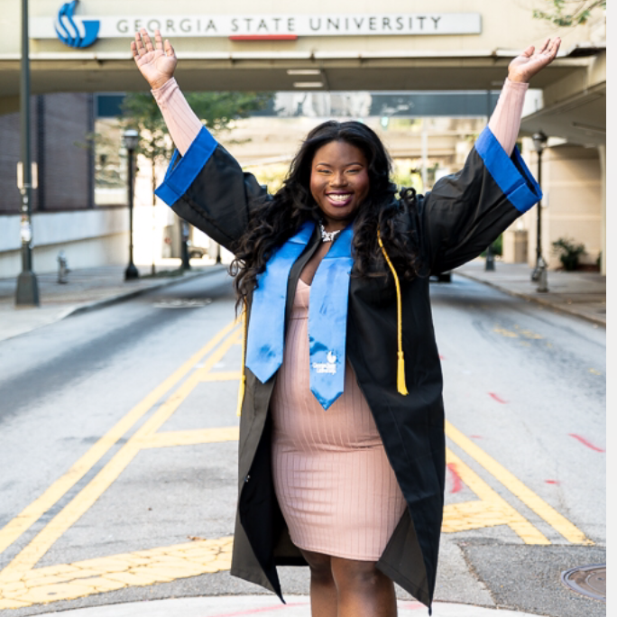 Tierra Hunter, Partnerships & Events Lead   Graduate of Georgia State where she recieved her B.S. in Biology and Chemistry. Hunter is innovative and dynamic, while committed to excellence within her local community and communities abroad. She believes that it is never to late to be exactly who you want to be and knows that fostering a love for STEM in our youth will provide opportunities for growth and guidance.