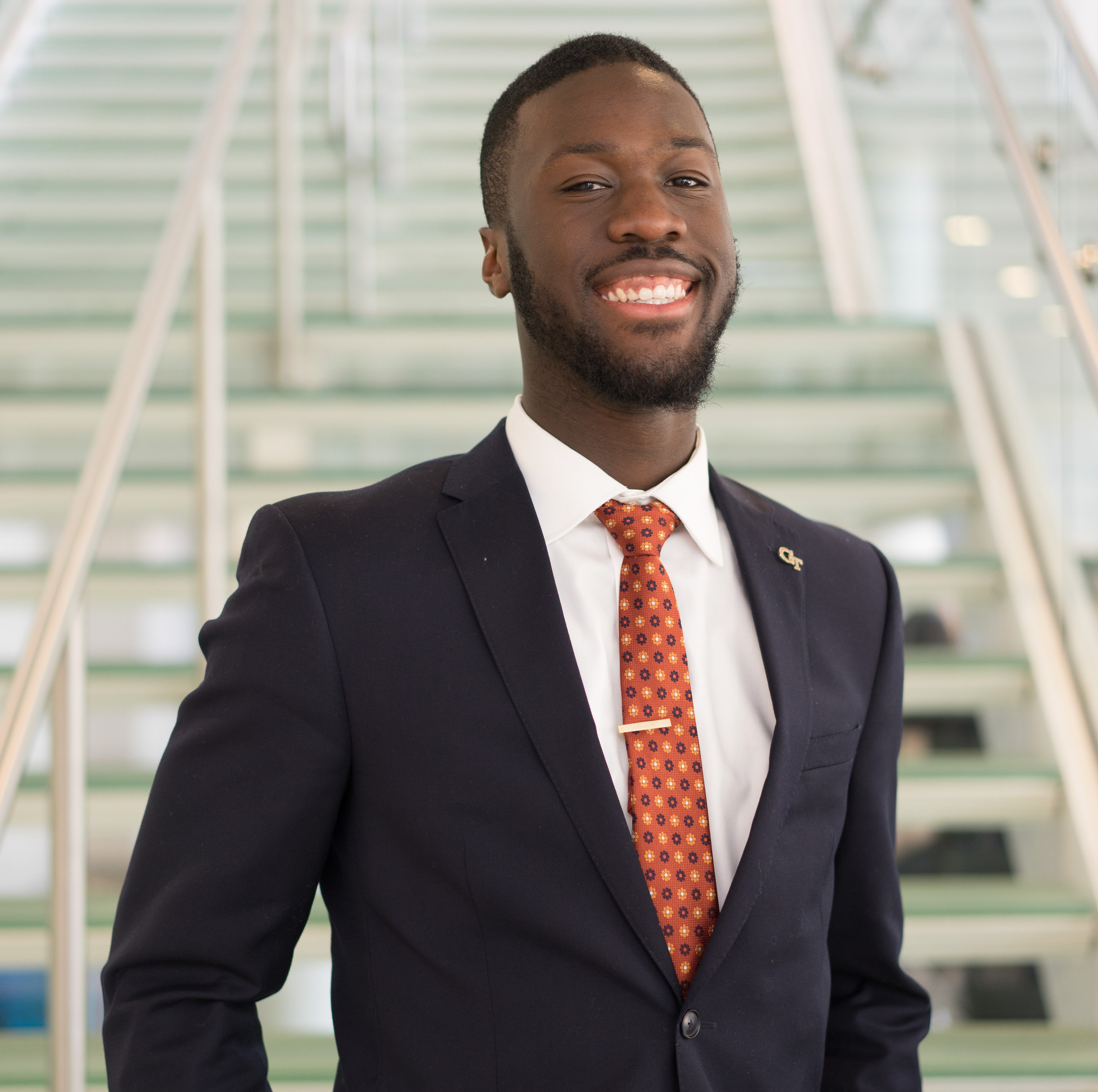 Wama G  betibouo, Engagement Lead   Graduate of the Georgia Institute of Technology where he received a B.S. in Mechanical Engineering with a minor in Technology & Management. Wama is currently working as an Operations Engineer for Caterpillar Inc. in Peoria, IL. He is also a freelance graphic designer and cryptocurrency enthusiast.