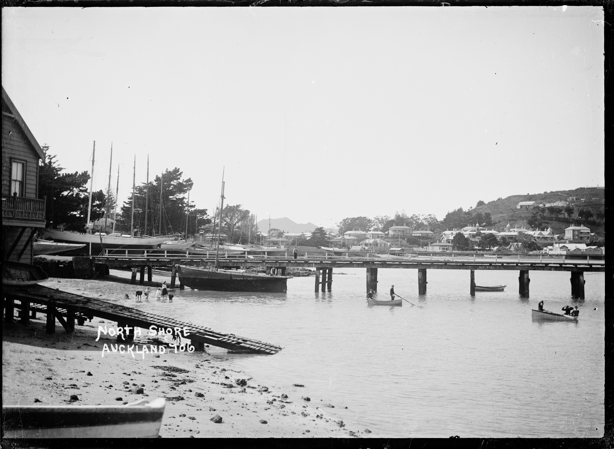 Sims and Brown slipway