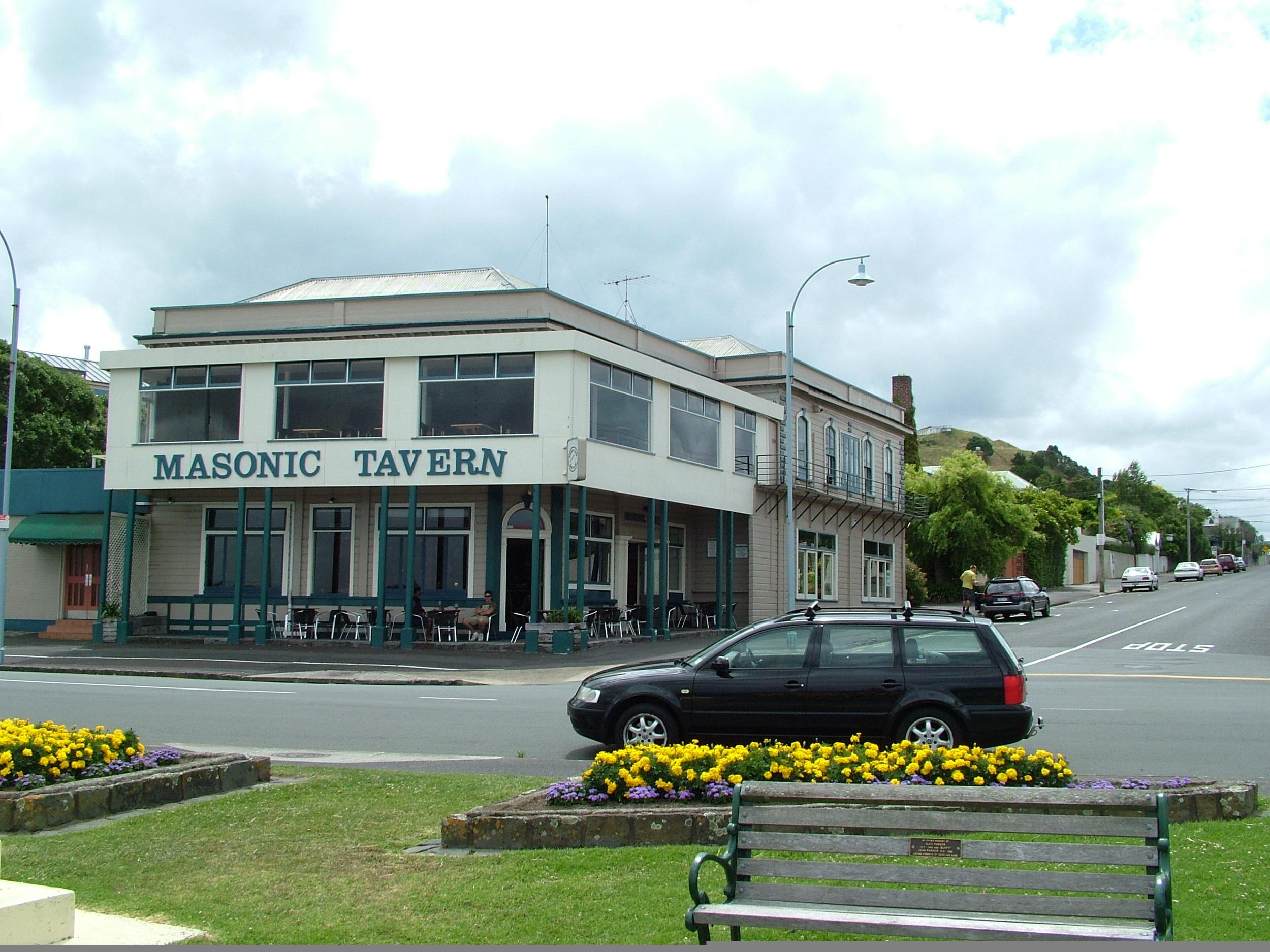 The Masonic tavern