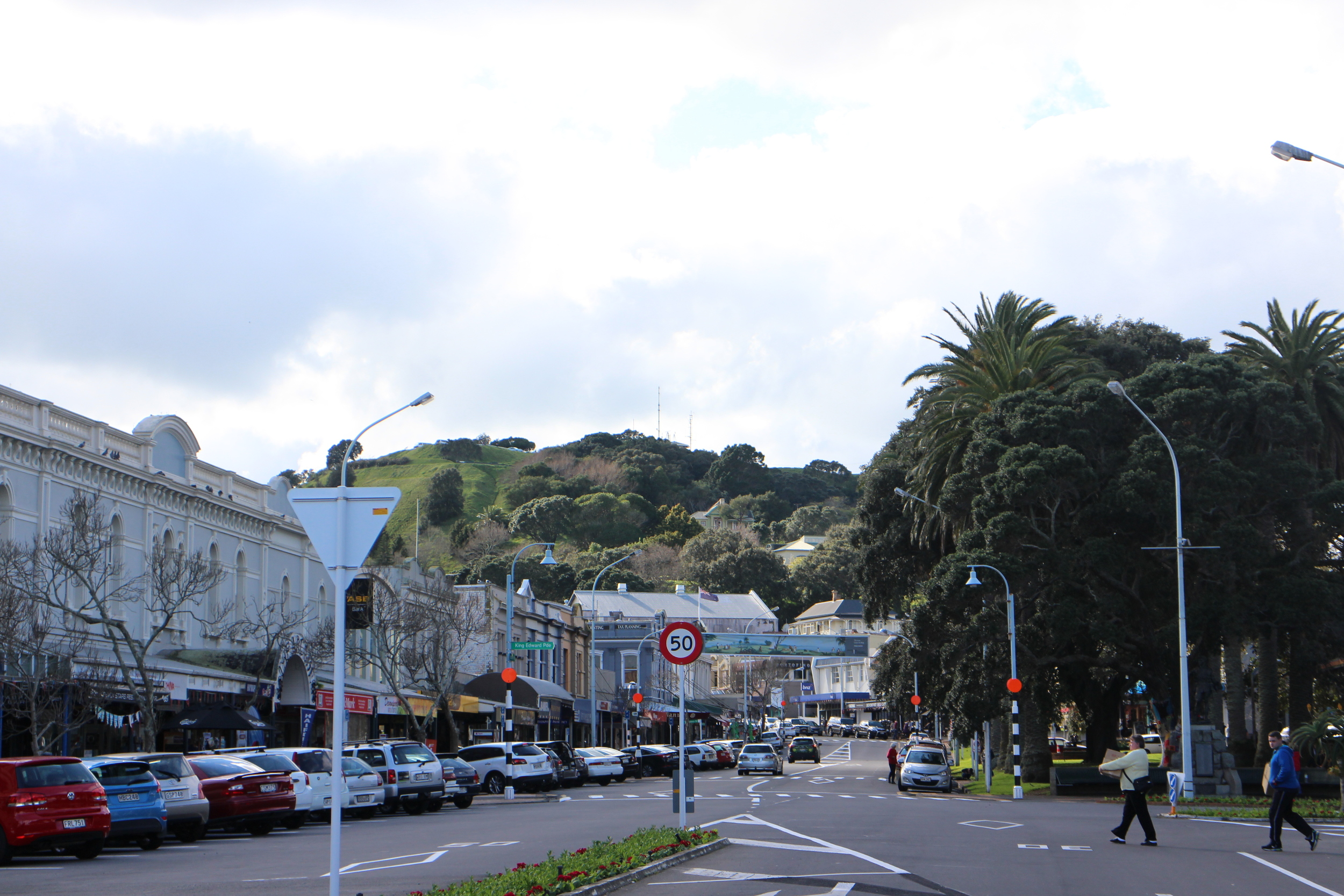 Takarunga / Mt Victoria anchors Victoria Road