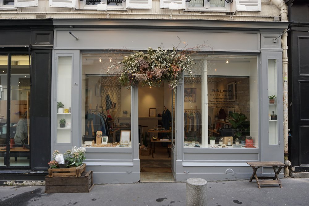 Fell in love with one of the designers / co-owners of this concept store Belles Amies.