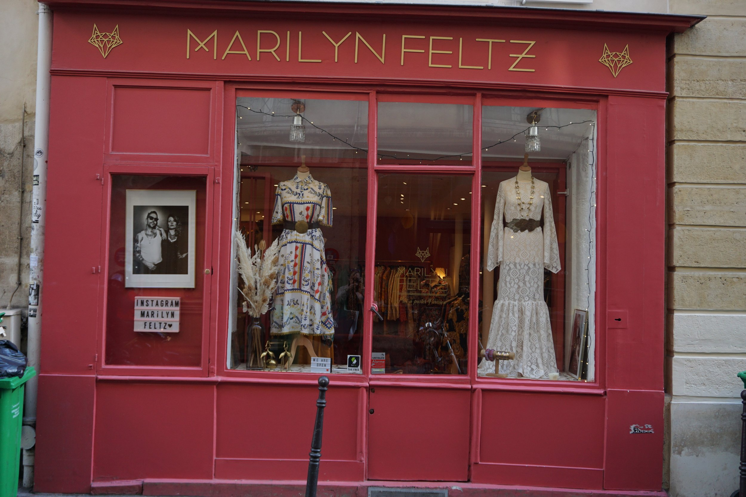 Walking in to the store  Marilyn Feltz  is a must if you enjoy fashion.