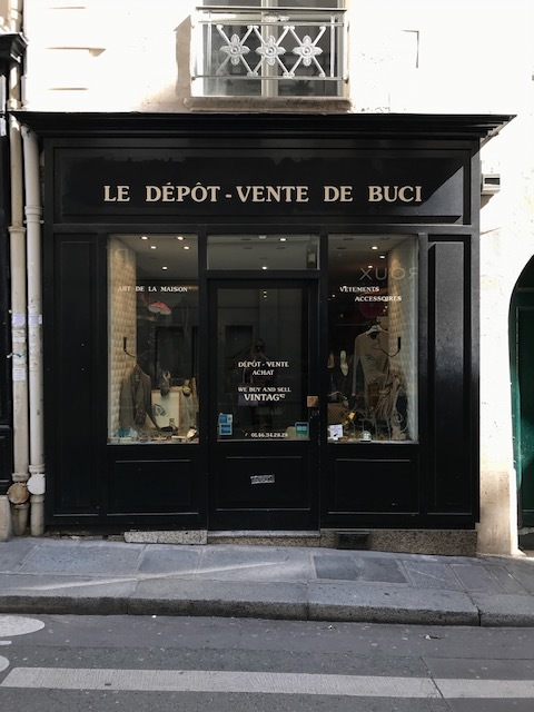 You will find many small quaint shops in Paris that are full of all types of upscale vintage. I find most of it to be overpriced, with pieces that don't speak to every day wear: in most cases, not what I'm looking for.